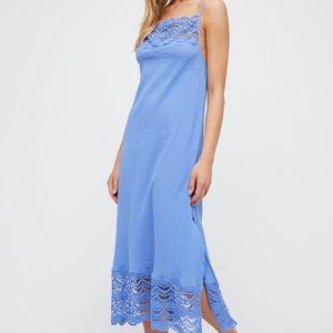 Free People Abbie Cotton Maxi Dress